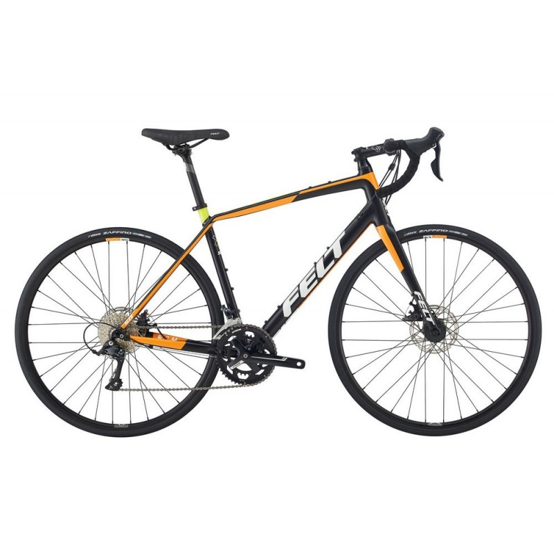 Felt VR50 Road Endurance Bike 2018 Matt Black and Orange