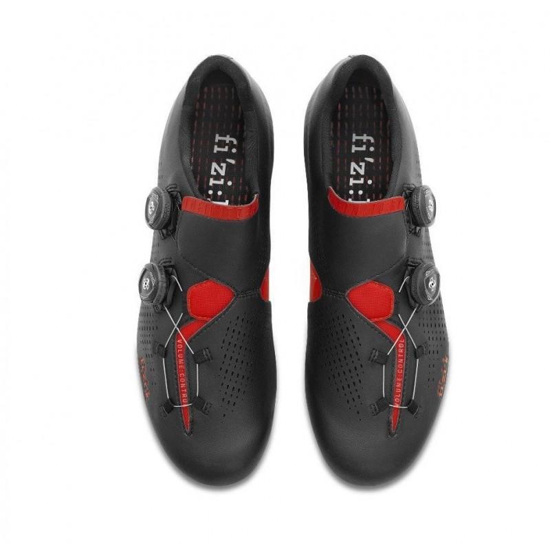 Fizik Infinito R1 Road Bike Shoe Black Red