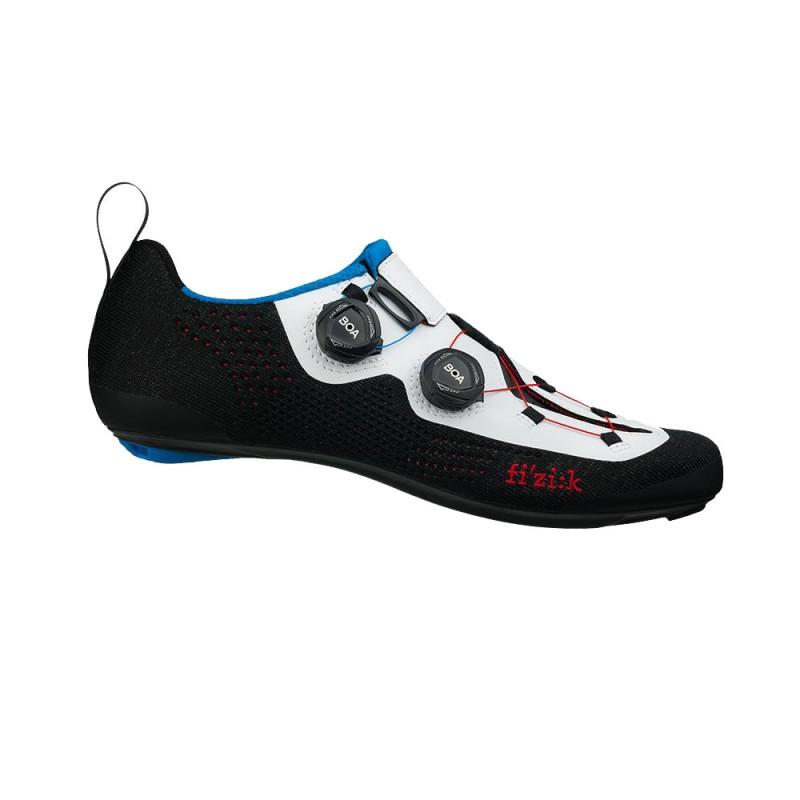 Fizik R1 Infinto Knit Transiro Road Cycling Shoe Black/White