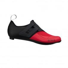Fizik R4 Powerstrap Transiro Triathlon Cycling Shoe Black/Red