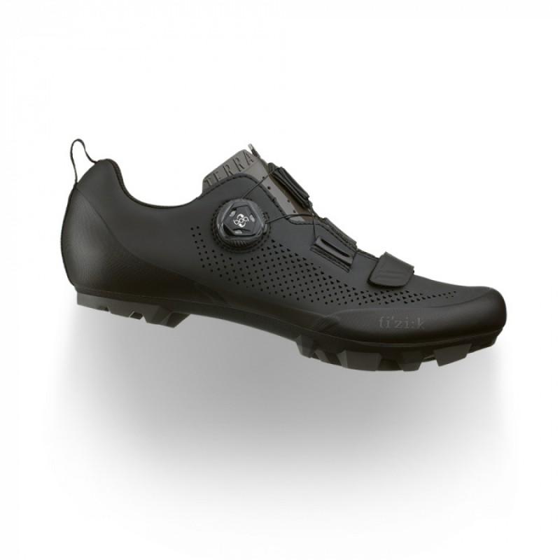 Fizik Terra X5 Cycling Shoes Black/Black