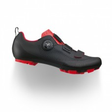 Fizik Terra X5 Cycling Shoes Black/Red