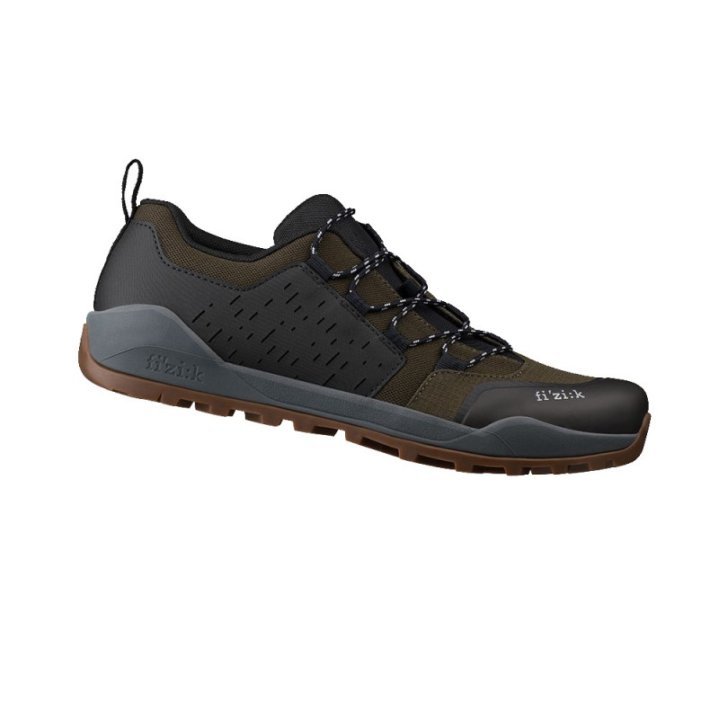 Fizik X2 Terra Ergolace MTB Cycling Shoe Olive/Caramel
