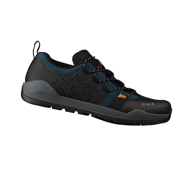 Fizik X2 Terra Ergolace MTB Cycling Shoe Teal Blue/Black