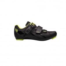 FLR F-15 Road Shoe Black/Neon Yellow