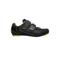 FLR F-35 Road Shoe Black/Neon Yellow