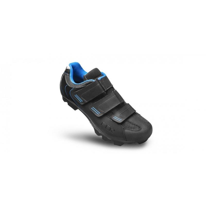 FLR F-55 Pro MTB Shoe Black/Blue