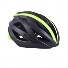 FLR Xeno Active Cycling Helmet Matt Black Yellow