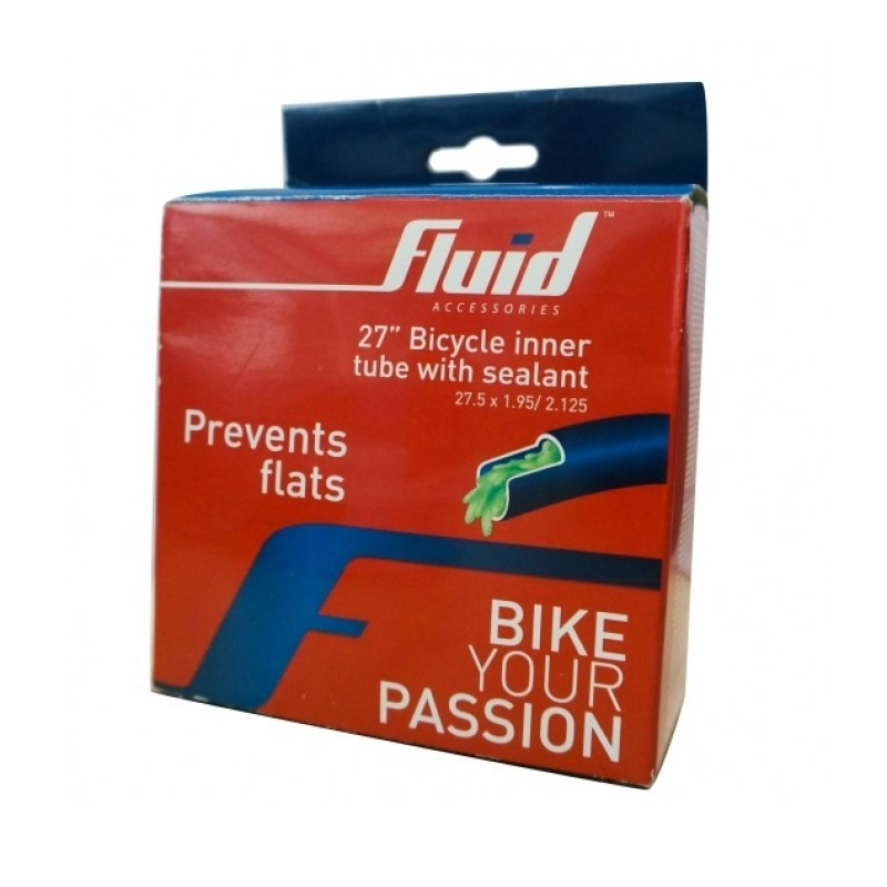 Fluid 27.5 Cycling Inner Tube With Sealant (PV)