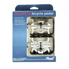 Fluid Dual MTB Alloy Bicycle Pedal