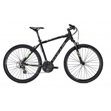 Focus 28 Crater Lake Elite Hybrid Bike 2017 Black Matt