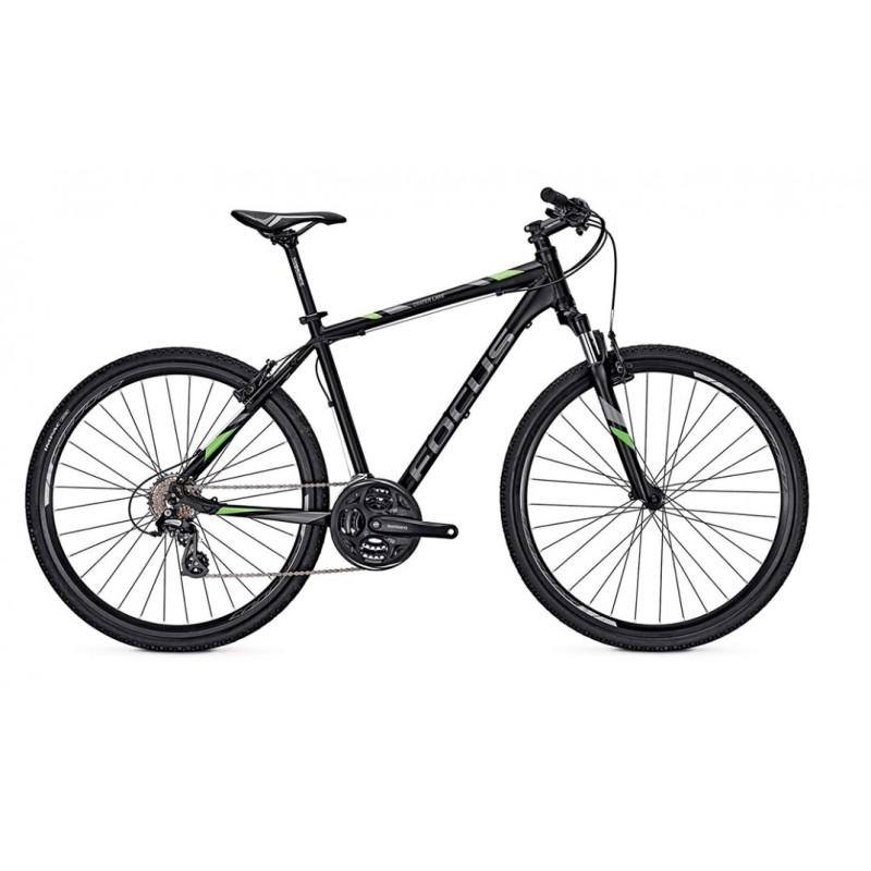 Focus 28 Crater Lake Elite Hybrid Bike 2017 Black Matt