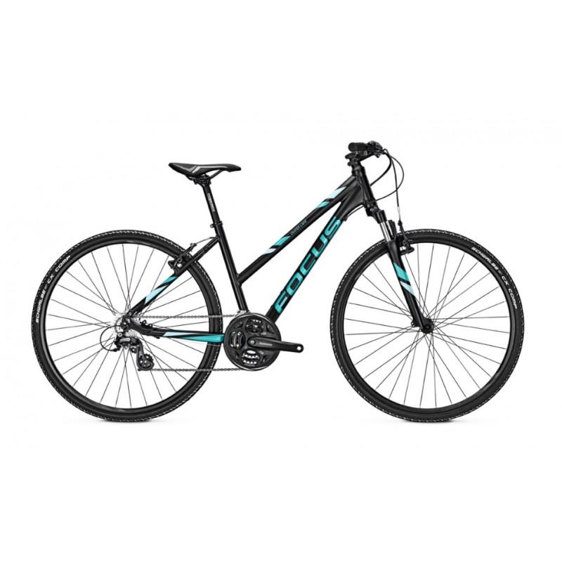 Focus 28 Crater Lake Elite Women Hybrid Bike 2017 Black Matt