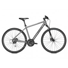 Focus 28 Men Crater Lake 3.7 Hybrid Bike 2019 Torontro Grey Matt