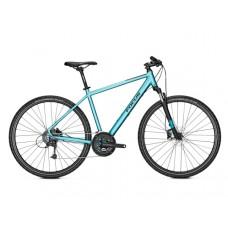 Focus 28 Men Crater Lake 3.8 Hybrid Bike 2019 Blue