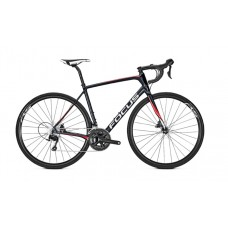 Focus 28 Paralane 105 Road Bike 2018 Black Red White