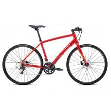 Fuji Absolute 1.3 Hybrid Bike 2018 Red