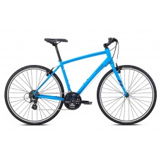 Fuji Absolute 2.1 Hybrid Bike 2018 Satin Bright Blue