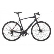 Fuji Absolute Carbon Hybrid Bike 2018 Satin Carbon