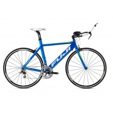 Fuji Aloha 1.1 Triathlon Bike 2015 Blue Citrus