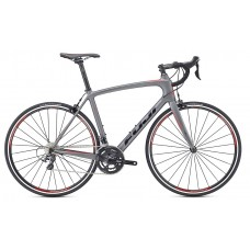 Fuji Grand Fondo Classico 1.1 Road Bike 2017 Satin Grey Gloss Black