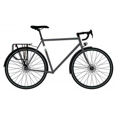 Fuji Touring Disc LTD Touring Bike 2021 Anthracite