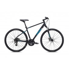 Fuji Traverse 1.7 Hybrid Bike 2018 Satin Black