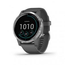 Garmin Vivoactive 4 Smart Watch Shadow Grey Silver
