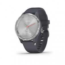 Garmin Vivomove 3S Smart Watch Granite Blue With Silver