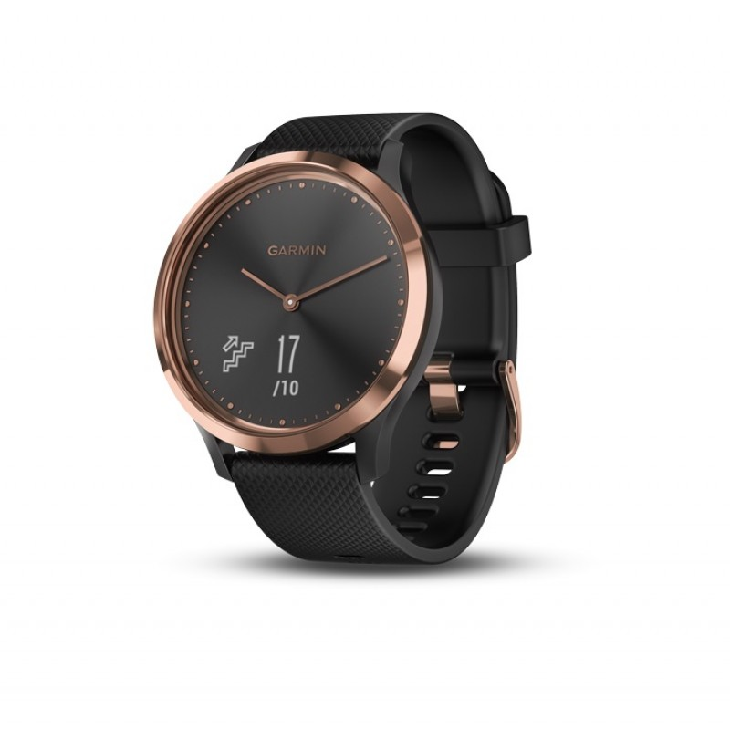 Garmin Vivomove HR Smart Watch Black Rose Gold