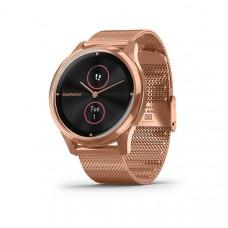 Garmin Vivomove Luxe Smart Watch Rose Gold Milanese (Stainless Steel)