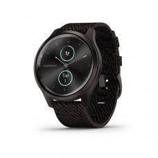 Garmin Vivomove Style Smart Watch Graphite Black Pepper Nylon