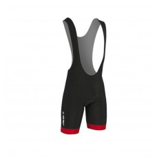 Gist Flow 2 Cycling Bibshorts Black Red