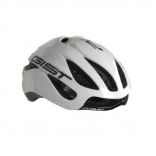 Gist Primo Road Bike Helmet White Black