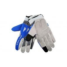 Good Hand Full Finger Hand Gloves Blue