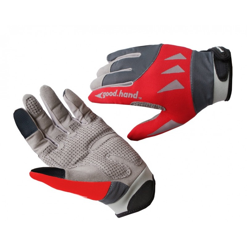 Good Hand Full Finger Hand Gloves Red