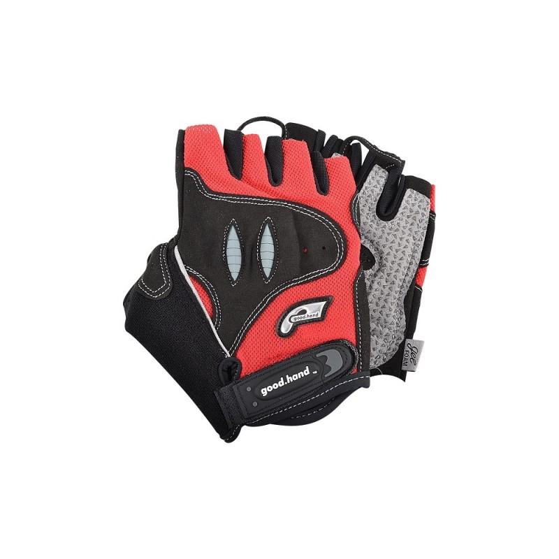 Good Hand Half Finger Hand Gloves Red