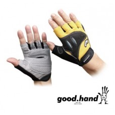 Good Hand Half Finger Hand Gloves Yellow