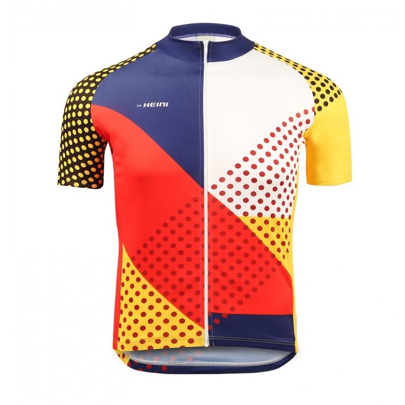 Heini Sports Nizza Men Short Sleeve Jersey (Dots)
