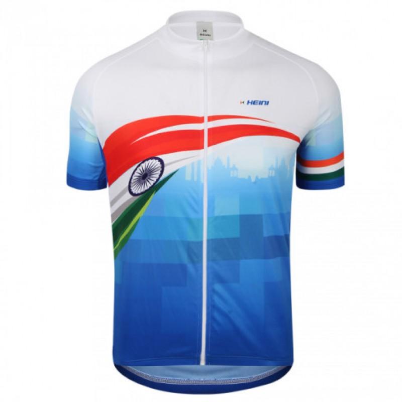 Heini Sports Regular Fit Nizza Men Short Sleeve Jersey (Flag Blue 605)