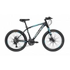 Hercules 24T Roadeo A65 Kids Bike 2019 Black with Blue Graphics