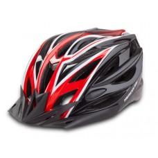 Hercules HC 29 MTB Cycling Helmet Black/Red 2018