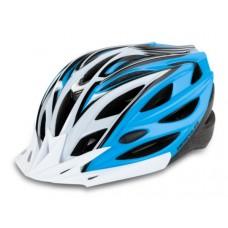 Hercules HC 29 MTB Cycling Helmet White/Blue 2018