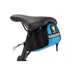 Hercules Saddle Bag 0.8 Ltr Blue