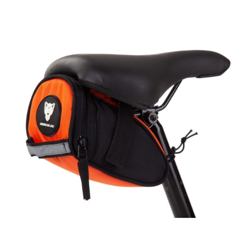 Hercules Saddle Bag 0.8 Ltr Orange