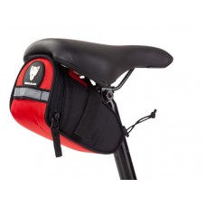 Hercules Saddle Bag 0.8 Ltr Red