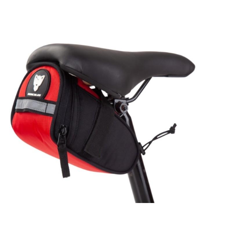 Hercules Saddle Bag 0.8 Ltr Red