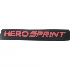 Hero Sprint Neoprene Cycle Chain Stay Pad 100x250mm Black