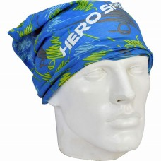 Hero Sprint Polyester Multipurpose Head Band Blue