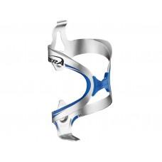 Ibera Aluminium  Bottle Cage BC12- Silver-Blue